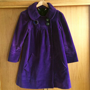 Marc by Marc Jacobs Purple Winter Swing Coat XS